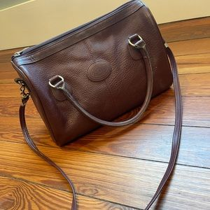 John Romain vintage leather handbag